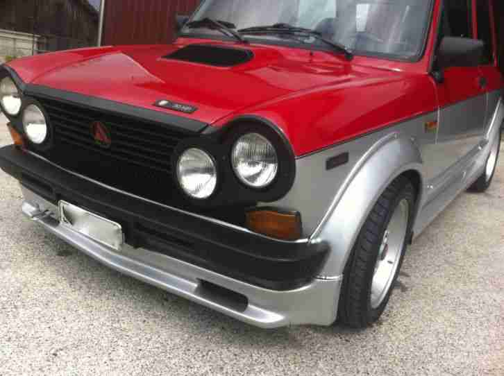 A112 Abarth RS Angsten 70 PS, Originaler