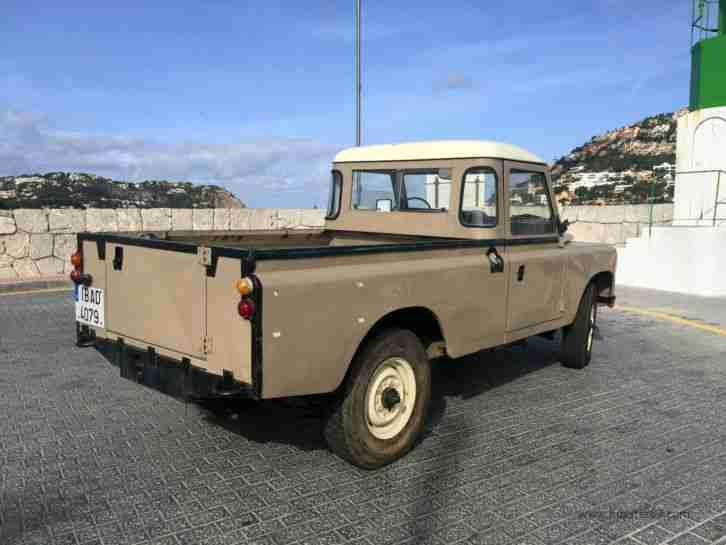 land rover 109 1984 pick up hardtop cabrio sehr tolle. Black Bedroom Furniture Sets. Home Design Ideas