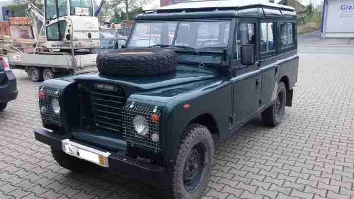 land rover defender 109 h kennzeichen t v topseller oldtimer car group. Black Bedroom Furniture Sets. Home Design Ideas