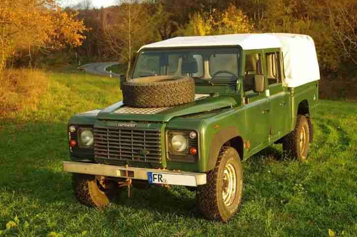 Land Rover Defender 130 Td5 Pick-Up Pritsche 147 PS TÜV 10/2016
