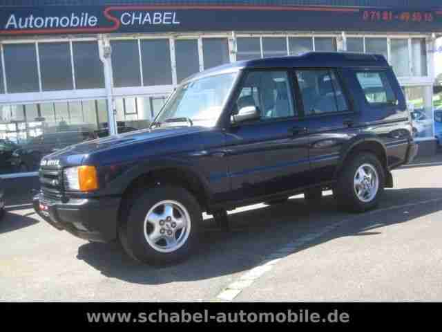 Land Rover Discovery Td5 2.5 Teilleder Klima AHK Automa