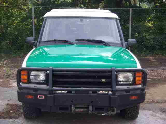 Land Rover Discovery Td5 Motor 36tkm Seilwinde Vollauss