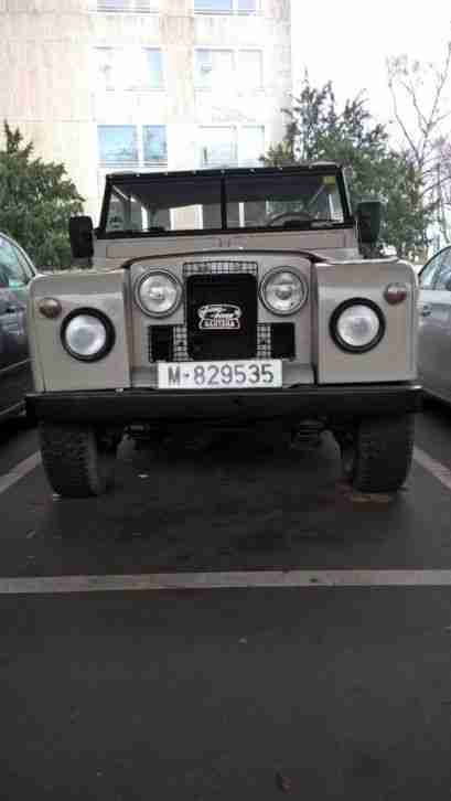 Land Rover Serie II a seltener Single Cab