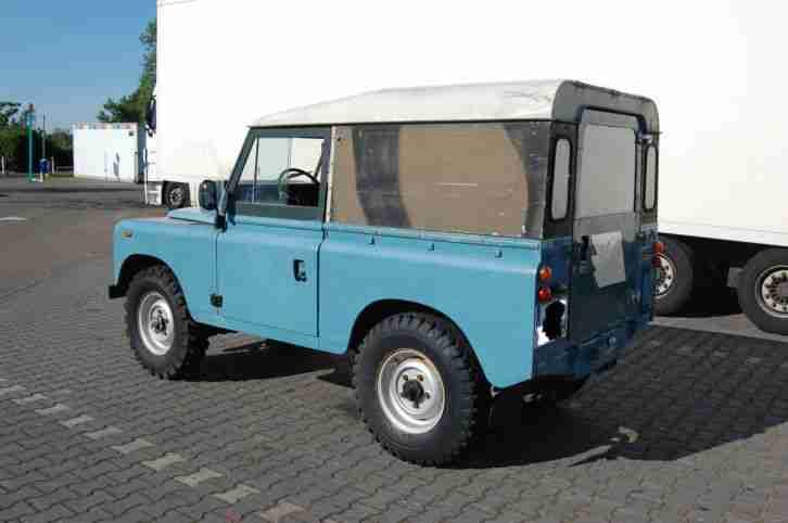 land rover serie iii 88 diesel h kennzeichen angebote dem auto von anderen marken. Black Bedroom Furniture Sets. Home Design Ideas