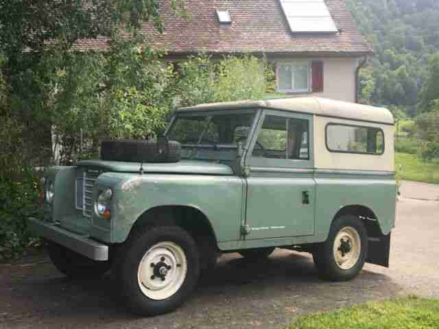 Land Rover Serie III 88 Hard Top