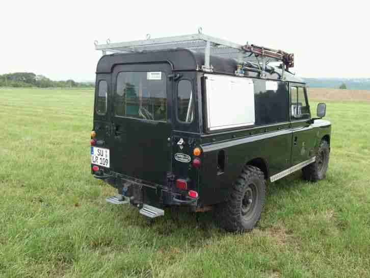 land rover serie iii defender 109 camper angebote dem auto von anderen marken. Black Bedroom Furniture Sets. Home Design Ideas