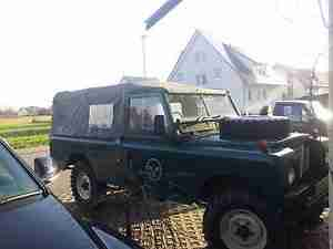 Land Rover ex Army Serie III 109er LHD