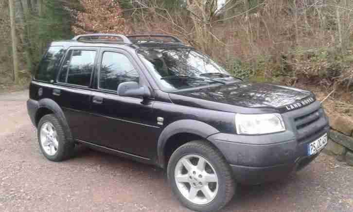 Landrover Freelander Black Spirit