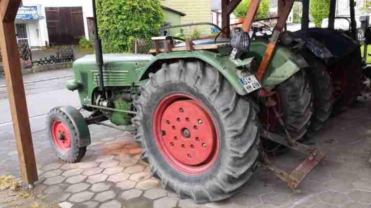 lanz herrmann d38 traktor oldtimer m hbalken. Black Bedroom Furniture Sets. Home Design Ideas