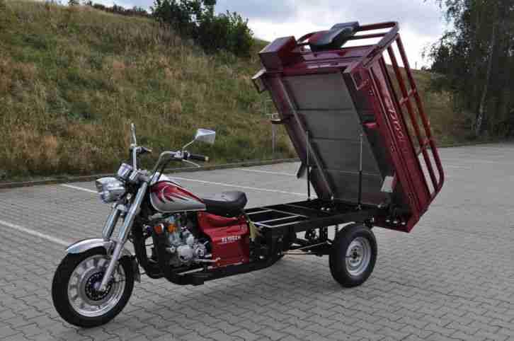 lastendreirad lastkraftrad trike dreisa xl150. Black Bedroom Furniture Sets. Home Design Ideas
