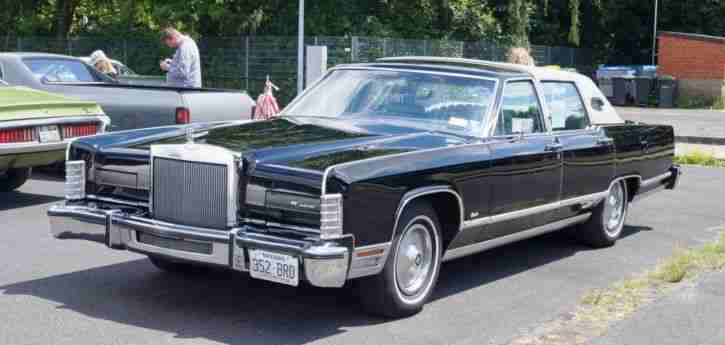 Lincoln Continental 1978, 23.000 Meilen, originaler