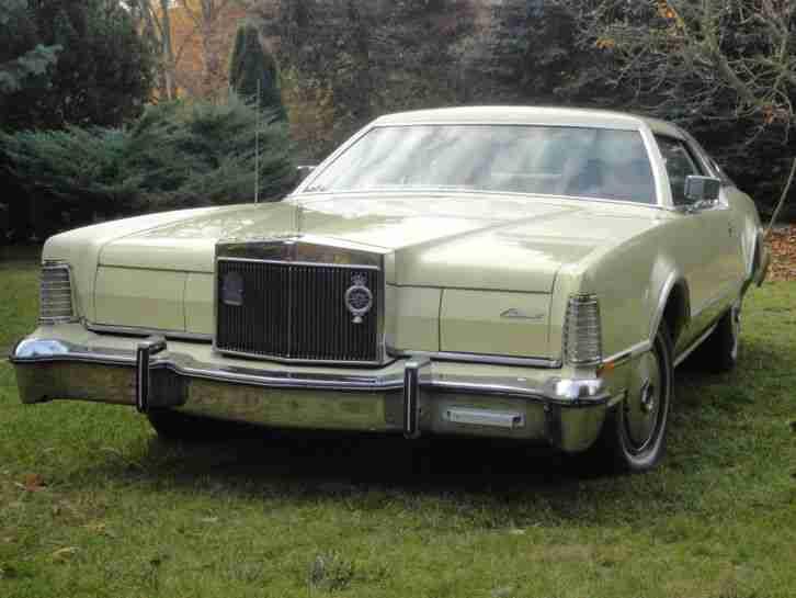 lincoln mark iv 1976 h zulassung t v 3 2017 die besten angebote amerikanischen autos. Black Bedroom Furniture Sets. Home Design Ideas