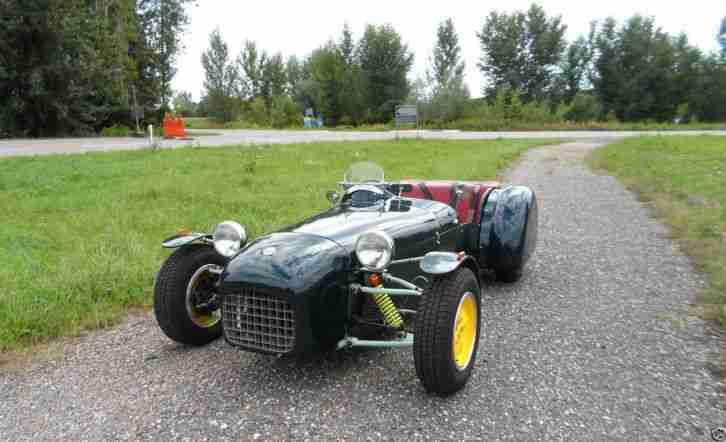Lotus Six Recreation, Lotus MK6, H-Zulassung, Kitcar, Super Seven