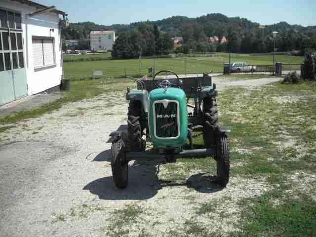 man 2f1 traktor schlepper mit anh nger guter. Black Bedroom Furniture Sets. Home Design Ideas