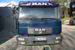MAN LE2000 8.180 Kipper, Anh. Kipphydraulik, Top