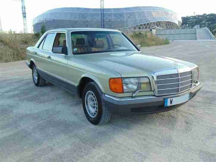 mercedes 280 se w126 1985 sud frankreich rost aktuelle. Black Bedroom Furniture Sets. Home Design Ideas