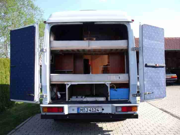 Mercedes Benz Vario 614 Wohnmobil Wohnwagen Wohnmobile