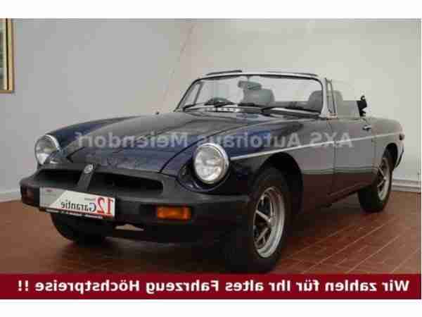 MG MGB Cabrio 2.HAND OVERDRIVE TÜV 06 2016