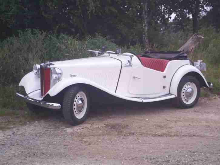 "MG TD2 von 1953 ""matching numbers"""