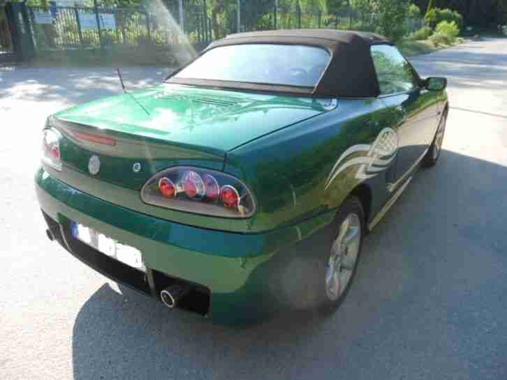 "MG TF 135 ROADSTER "" LIMITED EDITION "" BRITISH RACING GREEN "" MODELL 2003"