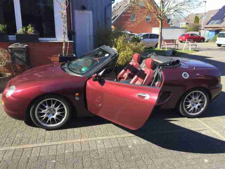 MGF limited edition rot rotes Leder