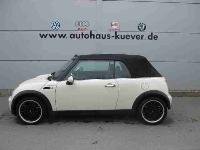 mini cooper cabrio 1 6 navi klima teilleder neue artikel der marke mini. Black Bedroom Furniture Sets. Home Design Ideas