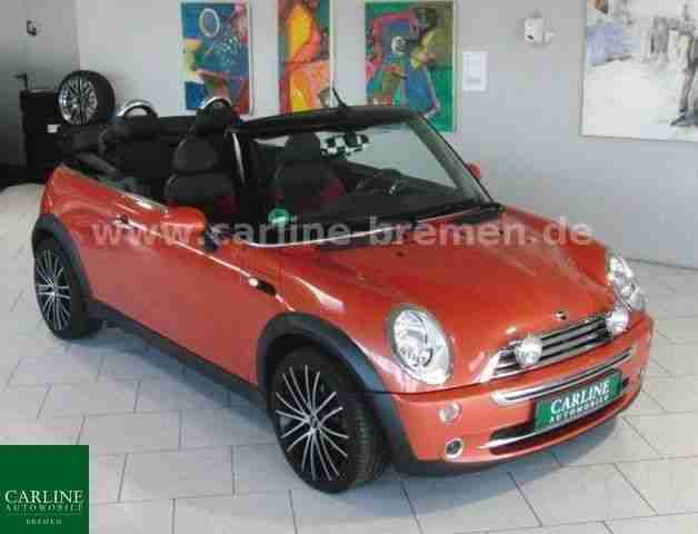 mini cooper cabrio automatik klima sitzh 17 neue. Black Bedroom Furniture Sets. Home Design Ideas