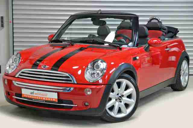 mini cooper cabrio leder navi xenon chili neue artikel der marke mini. Black Bedroom Furniture Sets. Home Design Ideas
