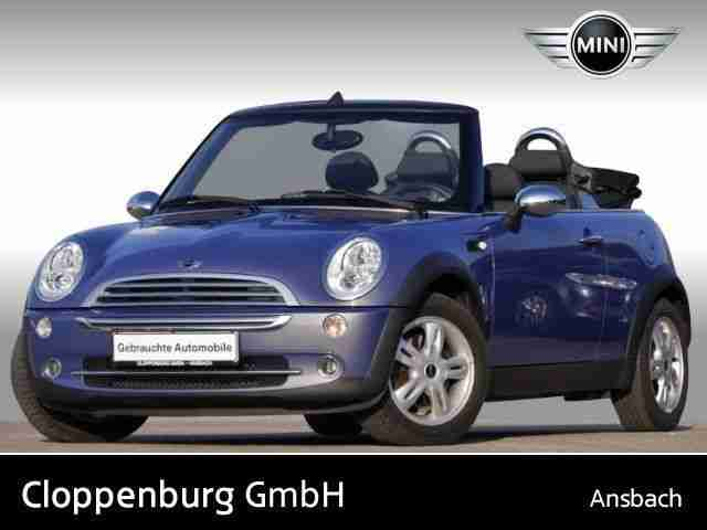 mini cooper cabrio pepper chrono paket klima neue artikel der marke mini. Black Bedroom Furniture Sets. Home Design Ideas