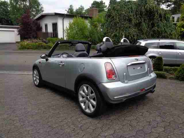 mini cooper cabrio elektr verdeck vollleder neue artikel der marke mini. Black Bedroom Furniture Sets. Home Design Ideas