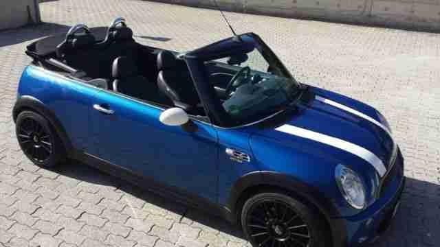 mini cooper s cabrio spicy 204ps leder xenon neue artikel der marke mini. Black Bedroom Furniture Sets. Home Design Ideas