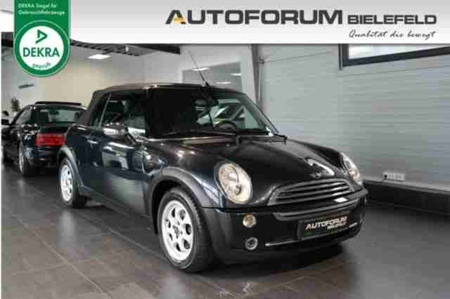 MINI Mini Cabrio 1, 6 Pepper, Leder