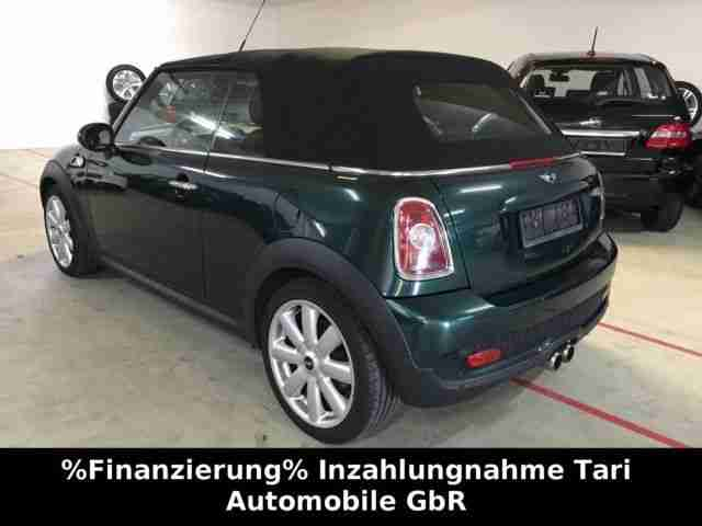 mini mini cooper s cabrio leder xenon harman neue. Black Bedroom Furniture Sets. Home Design Ideas