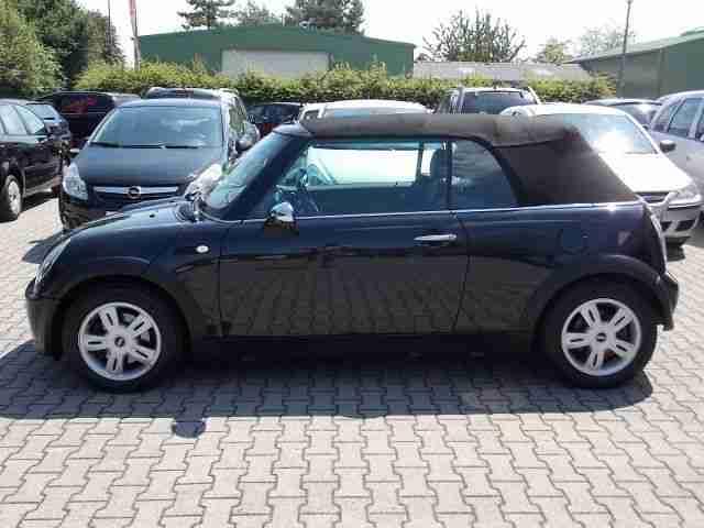 mini one cabrio 1 6 klima xenon alu neue artikel der marke mini. Black Bedroom Furniture Sets. Home Design Ideas