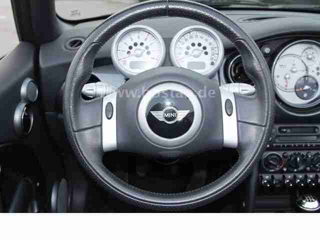 mini one cabrio pepper 1 6 klima leder neue artikel der marke mini. Black Bedroom Furniture Sets. Home Design Ideas