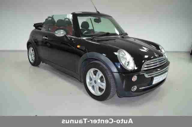 MINI ONE Cabrio Pepper 1.Hand Klima PDC top