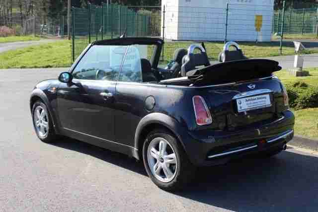 MINI One Cabrio KLIMA,LM-RÄDER,CD-RADIO,ZV,SERVO,BC,E