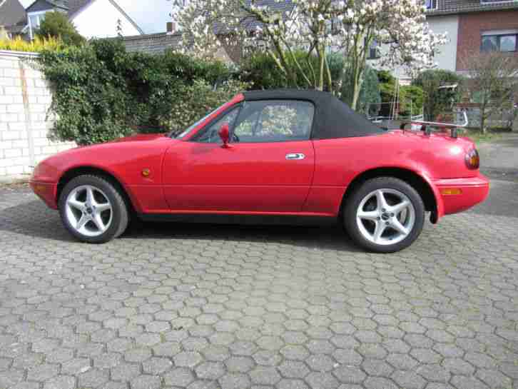 mx 5 cabrio 1 6 l benziner alufelgen 1 beste gebrauchtwagen mazda f r sie. Black Bedroom Furniture Sets. Home Design Ideas