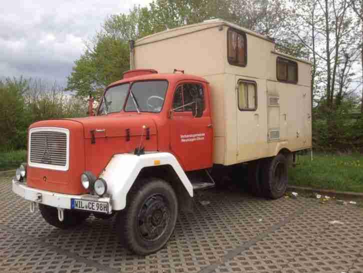 Magirus Mercur Allrad Wohnmobil Globetrotter Wohnwagen