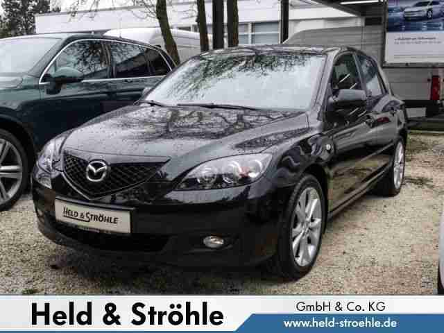mazda 3 1 6 sport active klima el fenster beste. Black Bedroom Furniture Sets. Home Design Ideas