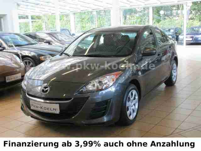 mazda 3 2 0 mzr automatik klimaanlage 1 hand beste gebrauchtwagen mazda f r sie. Black Bedroom Furniture Sets. Home Design Ideas
