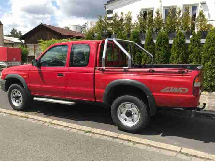 Mazda B Pick Up * 4x4 Allrad * 1,5 Kabine