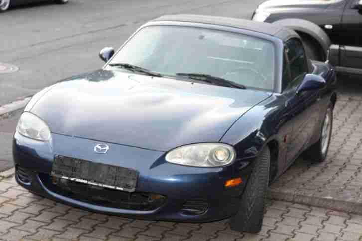 MX5 Bj 07.2002 16V 81 Kw Roadster blau