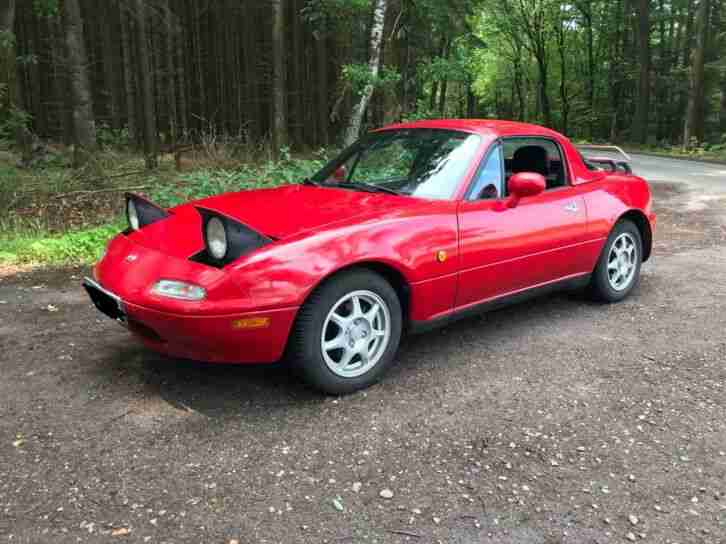 MX5 NA 131PS 1. Hand 106tkm Youngtimer