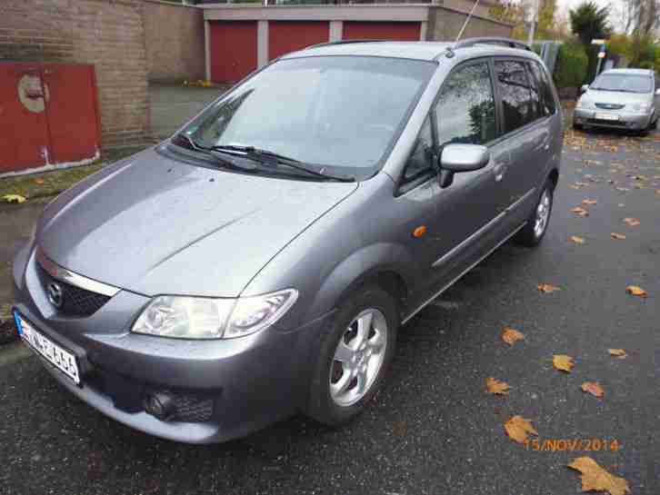 !!! Mazda Premacy 1,9 Active !!! 2 Hand !!! 8 fach bereift !!!