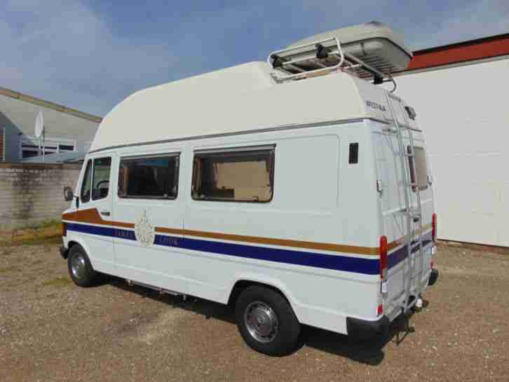 Mercedes 207 D Automatik James Cook Westfalia Wohnmobil