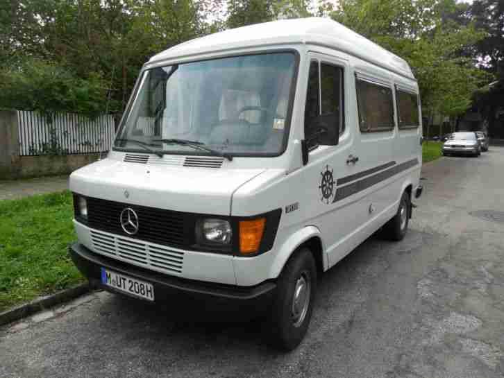 mercedes 208 westfalia wohnmobil oldtimer wohnwagen. Black Bedroom Furniture Sets. Home Design Ideas