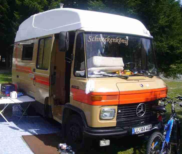 mercedes 407d wohnmobil bj 1980 wohnwagen wohnmobile. Black Bedroom Furniture Sets. Home Design Ideas