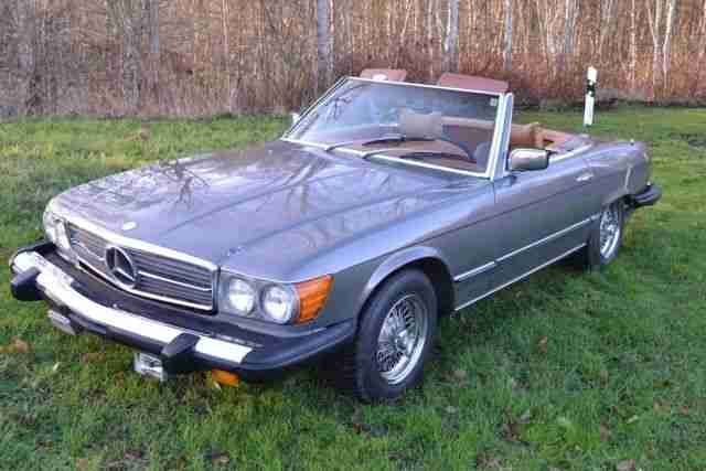 mercedes 450 sl bj 1976 us import topseller oldtimer. Black Bedroom Furniture Sets. Home Design Ideas