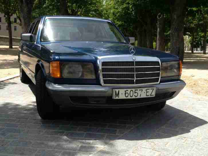 mercedes 500 sel w126 aktuelle angebote mercedes benz. Black Bedroom Furniture Sets. Home Design Ideas